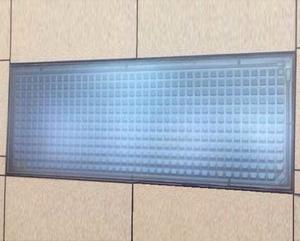 垂直镶嵌式热水器